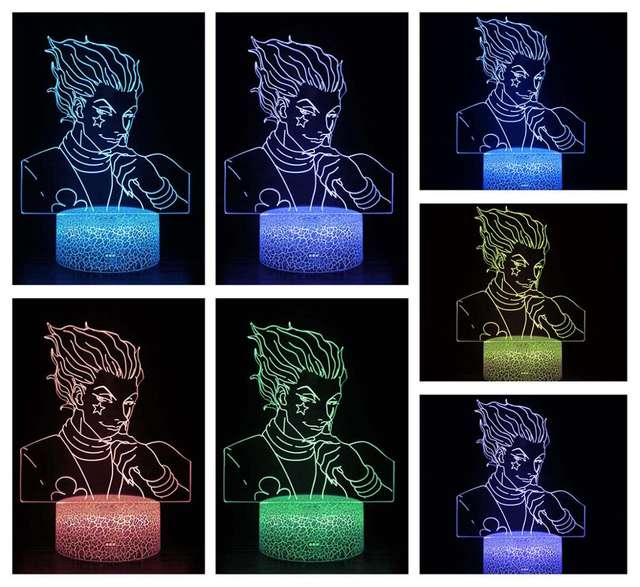HISOKA MORROW HUNTER X HUNTER 3D LED LAMP
