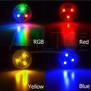 Image 2 - 1X Red Magnetic Wireless LED Car Door Opening Warning Lights Waterproof Strobe Flashing Anti Rear end Collision Led Safety Lamps