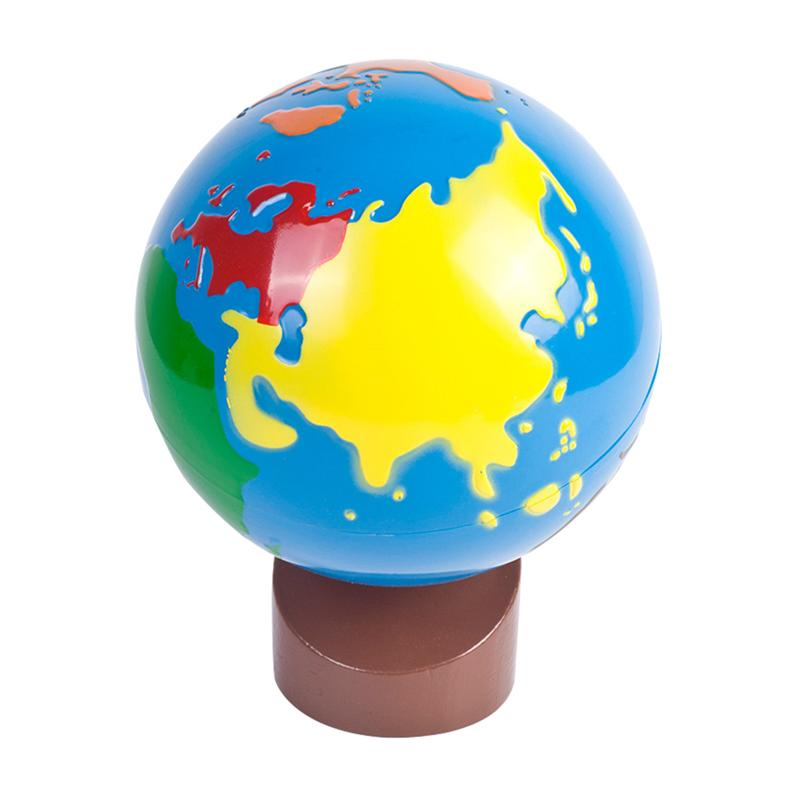 Children World Globe Durable Early Education Toy World Globe Decoration Color Globe For Stimulating Wisdom And Eye Protection