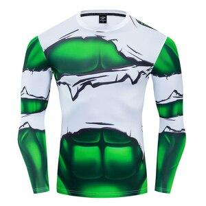 Superhero Hulk rozdarty kostium Cosplay Premium 3D kostium z nadrukiem koszulka kompresyjna Finess Gym szybkoschnące wąskie topy
