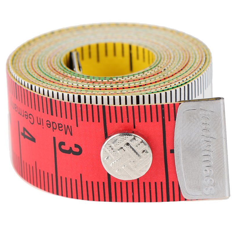 1.5m 3m Body Measuring Ruler Sewing Tailor Tape Measure Mini Soft Flat Ruler Centimeter Meter Sewing Measuring Tape