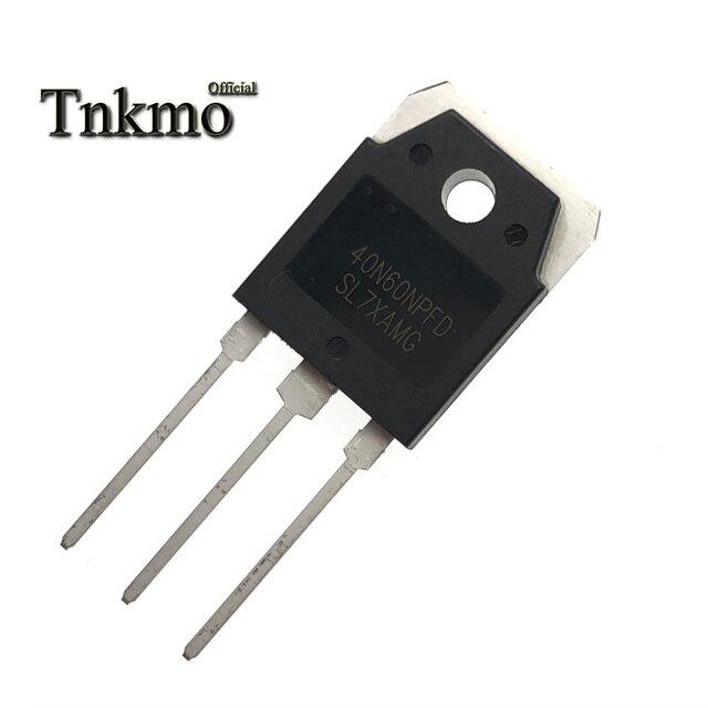 5PCS 10PCS 20PCS SGT40N60NPFD TO 3P 40N60NPFD TO3P SGT40N60 N 채널 IGBT 전계 효과 트랜지스터 40A 600V 새롭고 독창적 인