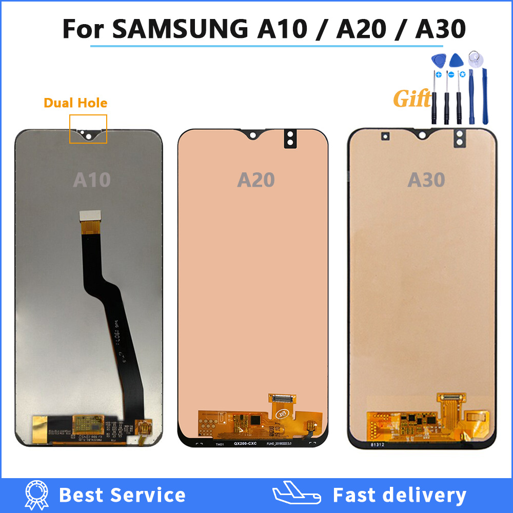 <font><b>LCD</b></font> For <font><b>SAMSUNG</b></font> GALAXY A10 A105 A105F A20 A20 A205 <font><b>A30</b></font> A305 <font><b>LCD</b></font> Display Touch Screen Digitizer Assembly <font><b>LCD</b></font> Screen Replacement image