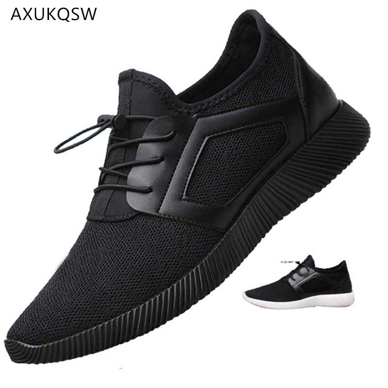 Men's Shoes 2019 Autumn Tennis Shoes Breathable Mesh Outdoor Sports Shoes Korean Version Of Driving Shoes Zapatillas Hombre