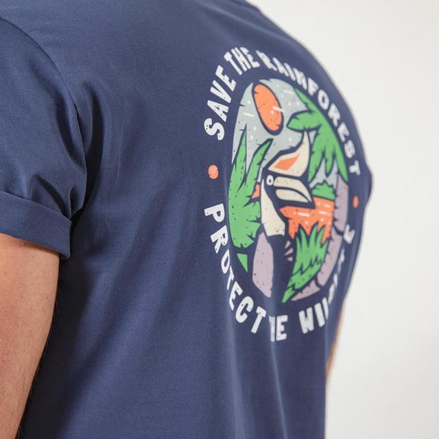 Summer T-Shirt with fashion print