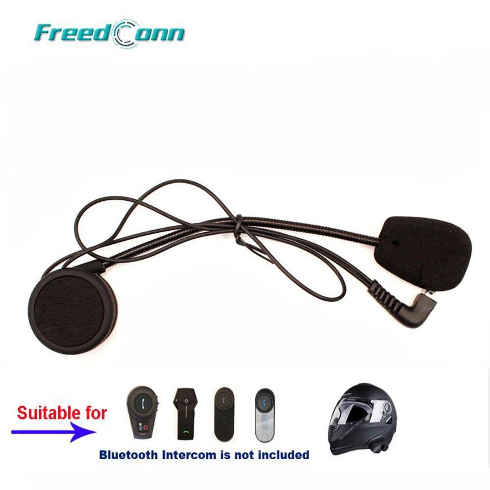 Freedconn Motorcycle Interphone Accessories hard Earphone Suit for T-COM SC T-COMVB FDC-VB COLO TCOM-02 Helmet Intercom