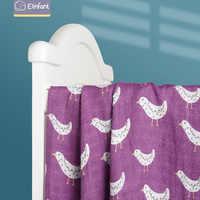Elinfant-pañales de muselina de bambú, mantas lavables para bebé recién nacido, envoltura de algodón de bambú, toalla envolvente suave para bebé