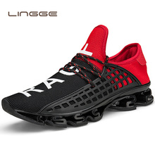 Men's Casual Shoes Black 2019 Lace-up Travel Couple Sneakers Breathable Mesh Shoes Big Size 36-48 Sneakers for Men 2018 men s sport running shoes couples lace up exercise couple sneakers breathable mesh letter shoes size 36 48 sneakers for men