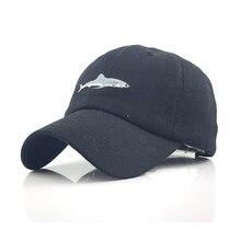 고래 패턴으로 새로운 씻어 면화 야구 모자는 남성 여성을위한 수 놓은 편지 아빠 모자를 뾰족 해졌다 casquette gorra hombre bone