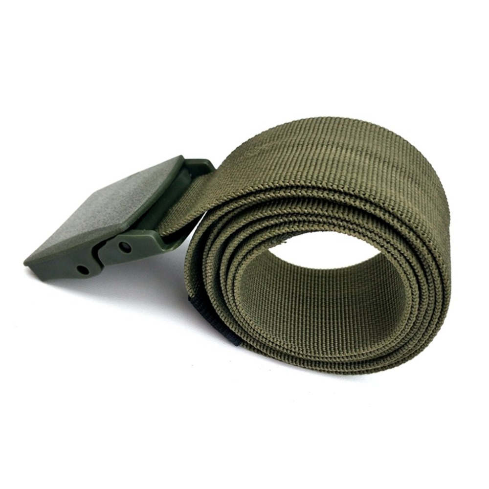Military Equipment Tactical Belt Man Outdoor Multifunctional Training Belt Strap Waist Belt Male Waistband 120x3.8cm &2