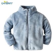 LONSANT 2019 Winter New Girls Plush Warm Coat Fleece Warm Party Warm Jacket Snow