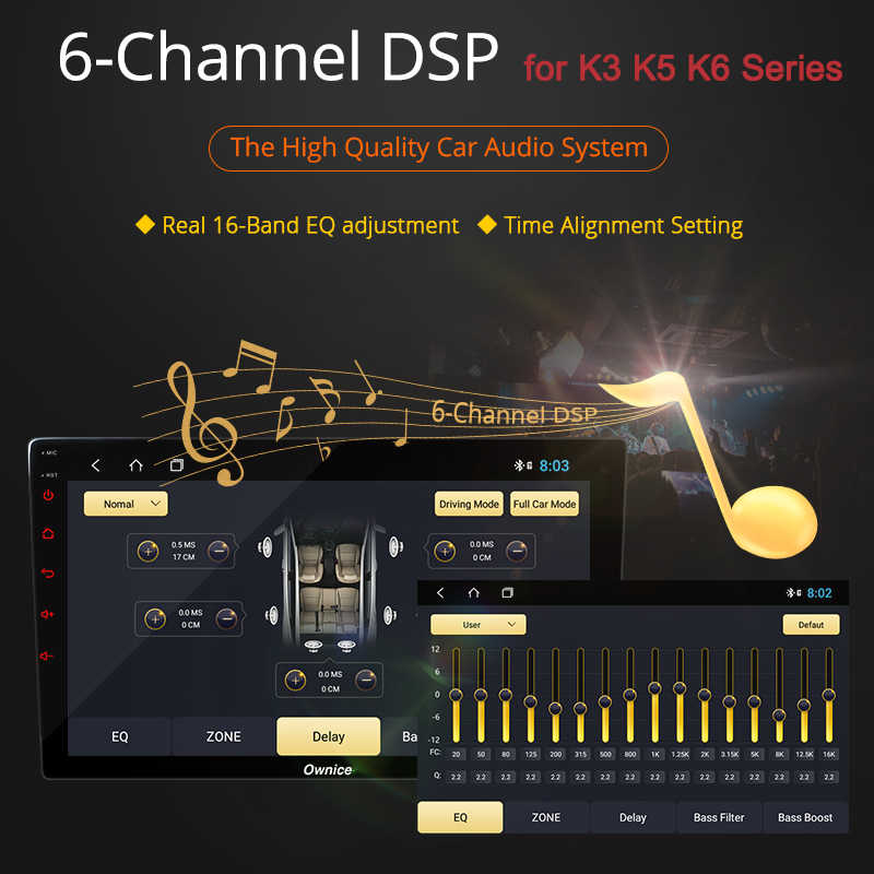 Ownice 8Core 4G DSP Android 9.0 Car Radio Player Navi PER TOYOTA PRADO 2010 2011 2012 2013 2014 -2016 DVD 360 Panorama Ottico