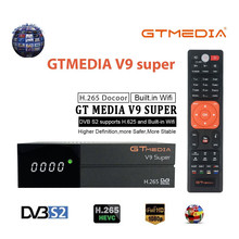 Best 1080P DVB-S2 GTmedia V9 Super Europe Spain Satellite TV
