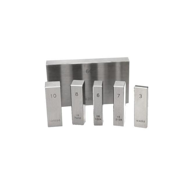 SYLMOS carré en acier métrique individuel calibre Standard bloc taille 250mm 300mm 400mm 500mm Grade 0 Grade 1 Grade 2