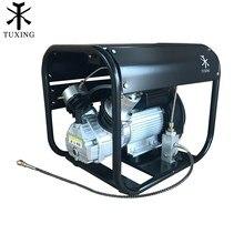 TUXING 4500Psi Pcp אוויר מדחס אוטומטי להפסיק גבוהה לחץ צילינדר כפול משאבת פנאומטי רובה גז טנק מילוי 220V 110V