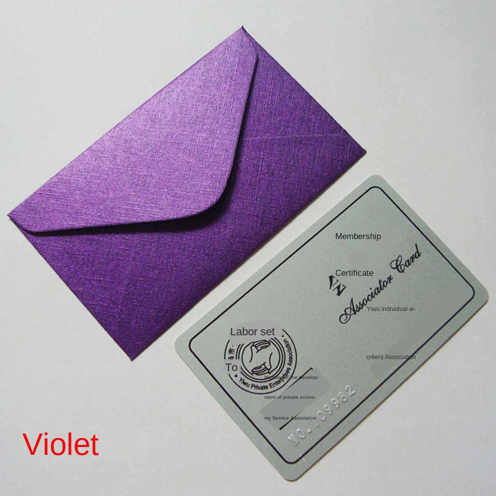 Wedding Invited Letters Vertical Paper Envelope Greeting Card Bags Packets