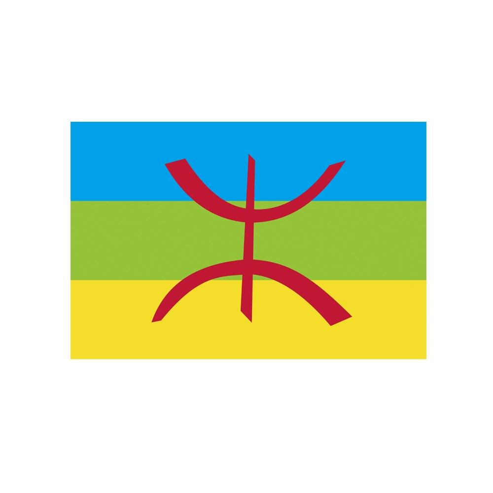 Berber Flag North Africa 150* 90cm 3ft x 5ft Custom Banner Metal Holes Grommets