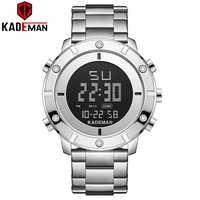 Kademan Neue Mode Designer Military Männer Armbanduhr Luxus TOP Marke Dual Display LCD K9151 Relogio Masculino