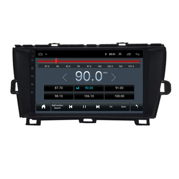 9 octa core 1280*720 QLED screen Android 10 Car GPS radio Navigation for Toyota Prius 2009-2013 image