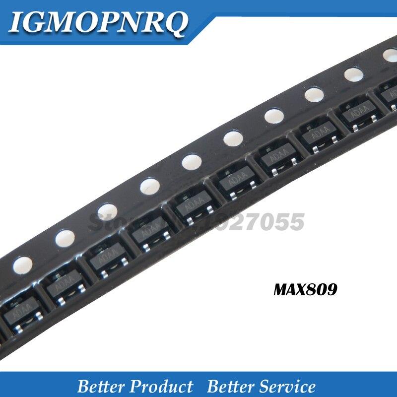 20 PCS MAX809SEUR SOT-23 ADAA MAX809S MAX809 Microprocessor Reset Circuits