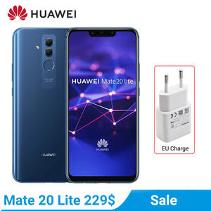 Huawei Mate 20-Lite 4-Gb 64gb WCDMA/GSM/LTE Nfc Quick Charge 4.0 Octa Core Fingerprint Recognition