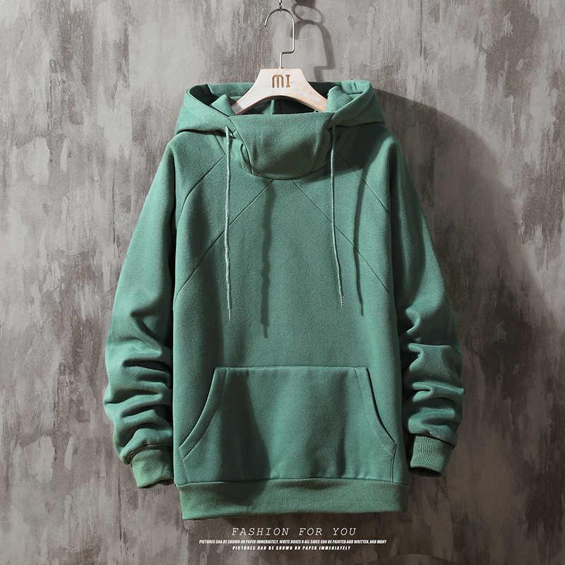 Solid Hoodies Mannen Nieuwe Mode Sweatshirt Mannelijke Camo Hoody Hip Pure Kleur Hoodie Heren Kleding
