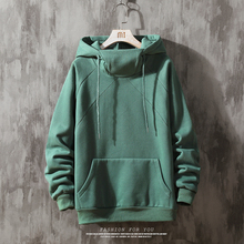 solid Hoodies Men New Fashion Sweatshirt Male Camo