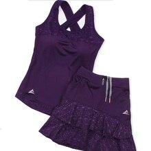Новинка 2020, женские теннисные юбки Lotus leaf, женская спортивная короткая юбка-стрейч для йоги с высокой эластичной талией, женские теннисные ш...