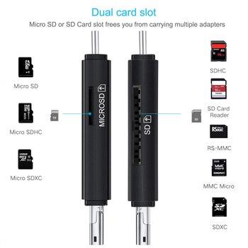 Lector de tarjetas micro SD y SD 2