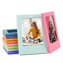 Magnetische Mini Foto Rahmen Kühlschrank Magnetische fotos für Fujifilm Instax Mini 9 8 7s 70 90 SP-1 für Polaroid mini 3 zoll Fotos