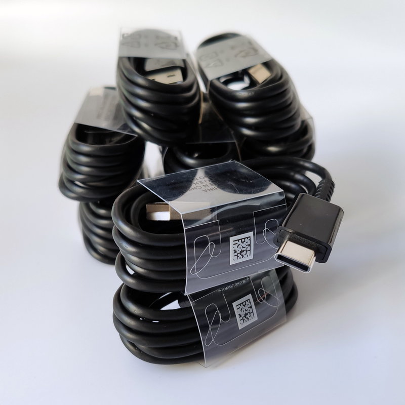 10Pcs/Lot Original 1M Type C <font><b>USB</b></font> Fast Charger Data Sync Charging <font><b>Cable</b></font> For <font><b>Samsung</b></font> S10 <font><b>S9</b></font> S8 Plus S10E S10 5G Note 10 Pro 9 8 image