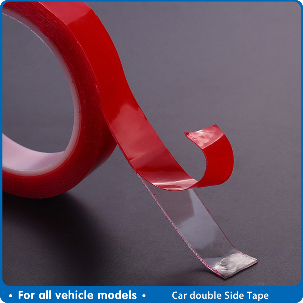 Automobile Special Double-sided Tape High Strength Transparent Glue No Traces Sticker Auto Double Face Tape Adhesive 6/8 Mm