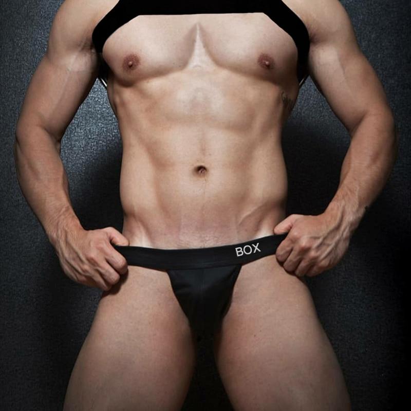 CMENIN Cotton Gay Men Sexy Underwear Thong Men Jockstrap 2021 New Mens Thongs And G strings Men's Underwear OR6603