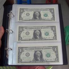 Album de Collection de pièces de monnaie, classeur de Collection de pièces de monnaie, support d'album, étui de rangement de papier