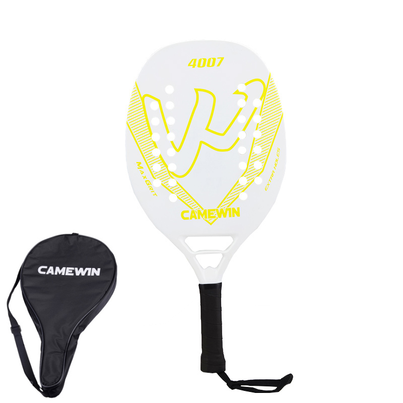 2020 Beach Tennis Racket New Carbon Fiber Soft Face Paddle Tennis Racquet With Protective Bag Cover