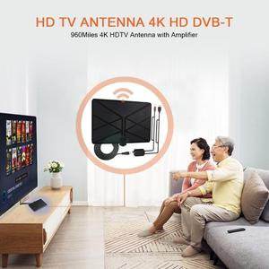 Image 5 - 960 Milesทีวีในร่มAmplifiedเสาอากาศดิจิตอลHDTV 4K HD DVB T Freeview TVสำหรับท้องถิ่นช่องBroadcastบ้านโทรทัศน์