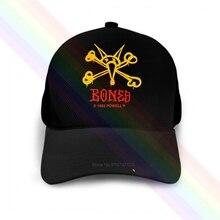 Hats Skateboard Powell Peralta Baseball-Cap Bones Skeleton-Skate-Logo Black Popular Newest
