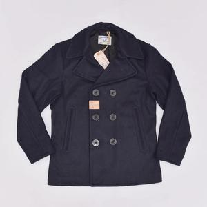 "Image 1 - בוב דונג ארה""ב חיל הים 740 אפונה מעיל 1940s USN כבד צמר חשיש מעיל Slim Fit"