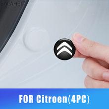4 unids/set 20 MM coche calcomanías etiqueta puerta Shock absorbida para Citroen- C1 3 BX CX GT C4Cactus C4PICASSO Berlingo C-cero Interior