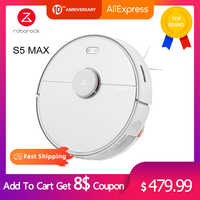 2020 Newest Roborock S5 Max Robot Vacuum Cleaner WIFI APP Control Automatic Sweep Dust Sterilize Smart Planned Washing Mopping