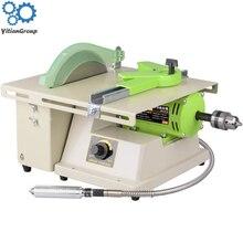 380w Mini Table Saw Stone Polisher Jade Engraving Machine Grinding machine Saws Cutting