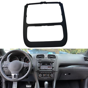 Black Automatic Air Conditioning Panel CD Panel Surround Radio Trim for Jetta Golf 5 MK5 MK6 2011 1KD 858 069