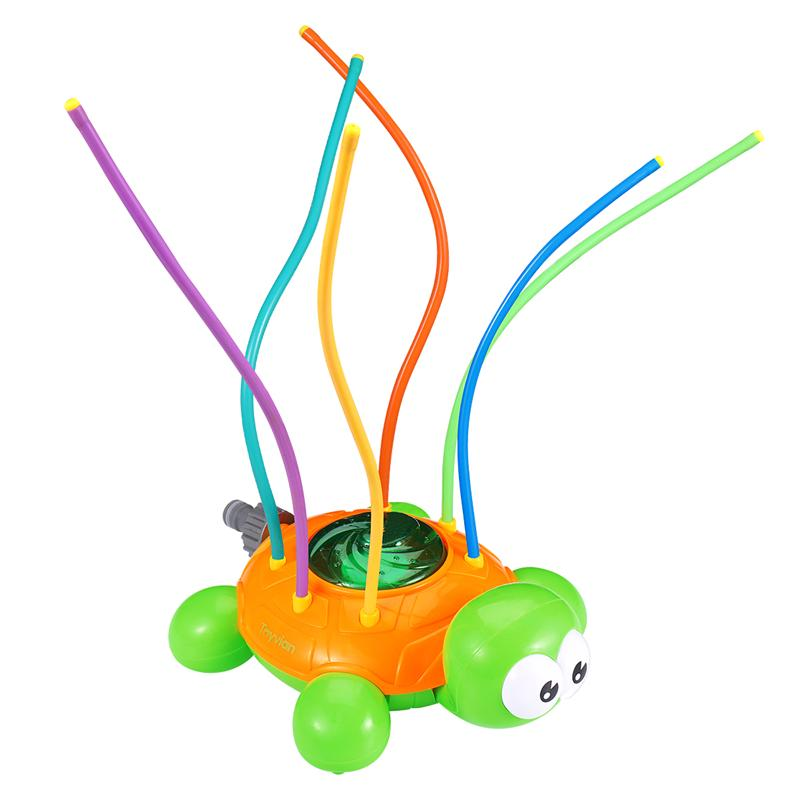 Toyvian Spinning Tortoise Sprinkler Water Spraying Turtle Toys For Swimming Pool Garden Lawn Outdoor