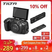 الأصلي TILTA Flipscreen الوجه شاشة ل BMPCC 4K 6K Blackmagic كاميرا M.2 SSD الفيديو دليل Tiltaing فتحا الوجه حتى