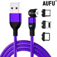 AUFU 1m 2m cavo di ricarica magnetico USB tipo C caricatore magnetico Micro Android cavo per telefono cellulare cavo USB per Samsung HuaWei