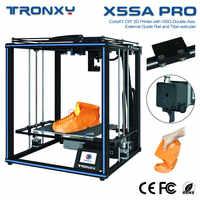 Imprimante 3D TRONXY améliorée X5SA-400/X5SA PRO/X5SA 24V bricolage écran tactile niveau automatique grande taille d'impression 3d Machine Filament ABS