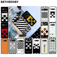 off and white For Galaxy S7 capas para Arrived Black New Design Shell for Samsung S9 plus S6 edge plus S7 edge S8 plus S10 plus