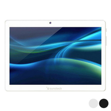 Sunstech TAB1081 планшет, экран 10,1 дюйма, четырёхъядерный, 2 Гб ОЗУ 32 Гб ПЗУ