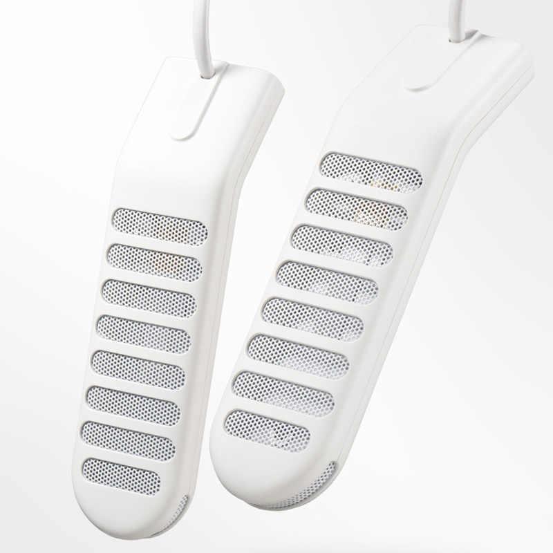 Taşınabilir USB ayakkabı kurutucu ısıtıcılı paspaslar ayak ısıtıcıları Deodorant nem alma cihazı için uygun farklı ayakkabı ile 200mm kordon