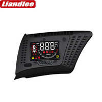 Liandlee For Honda UR V 2017 2018 2019 Auto Safe electronics Full Function Car HUD Head Up Display on the windshield projector